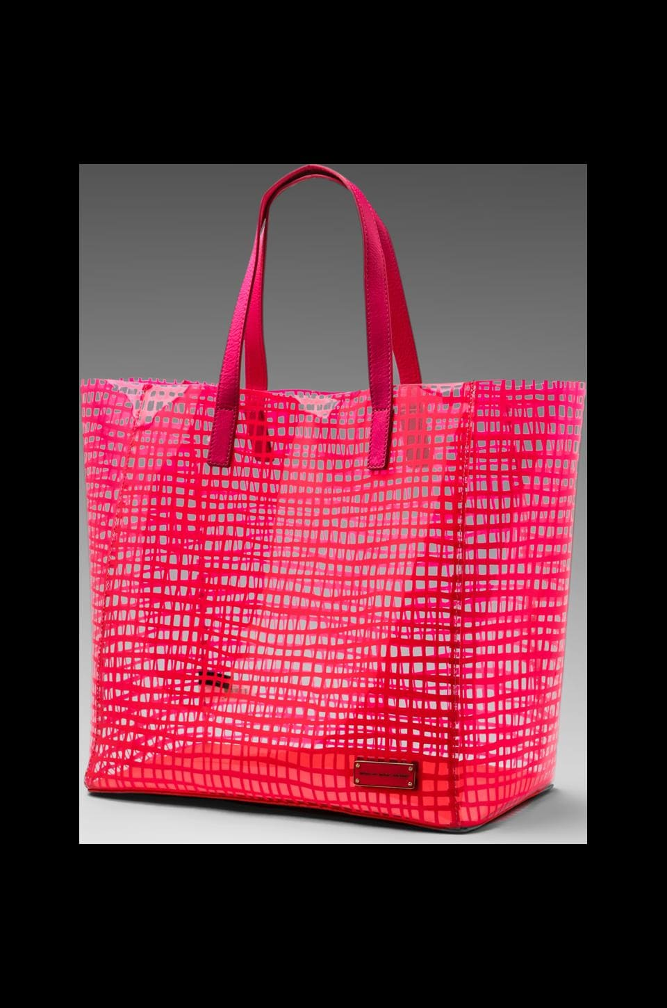 Marc by Marc Jacobs Checkmate Tote in Diva Pink