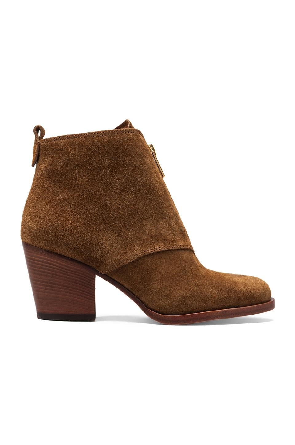 Marc by Marc Jacobs Boy Meets Girl Crosta Ankle Boot in Tan