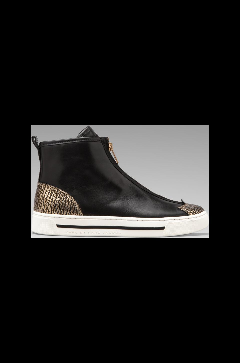 Marc by Marc Jacobs Good Sport 10mm Sneaker in Gold/Black