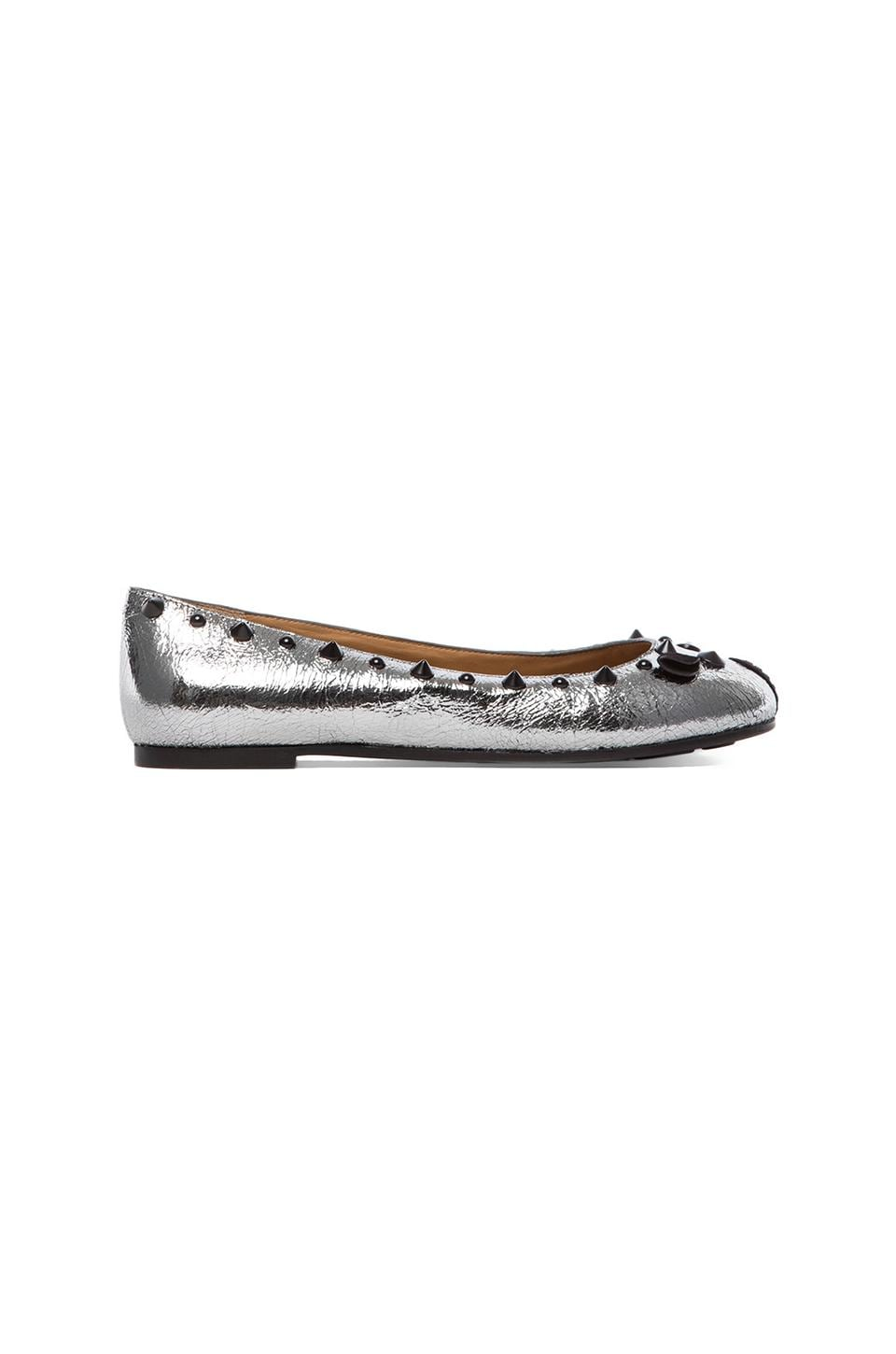 Marc by Marc Jacobs Ballerina in Gunmetal