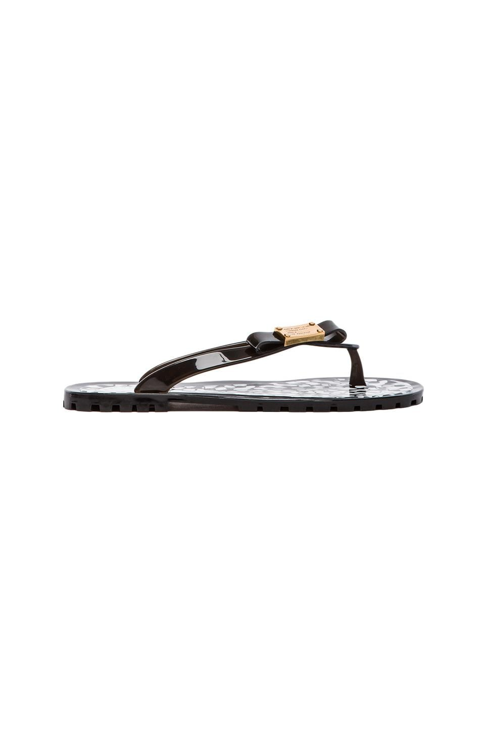 Marc by Marc Jacobs Flip Flop Jelly in Black