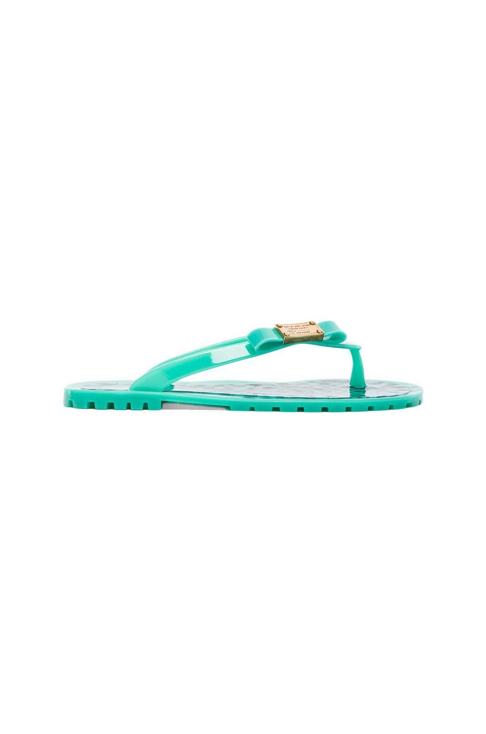Marc by Marc Jacobs Flip Flop Jelly in Lagoon
