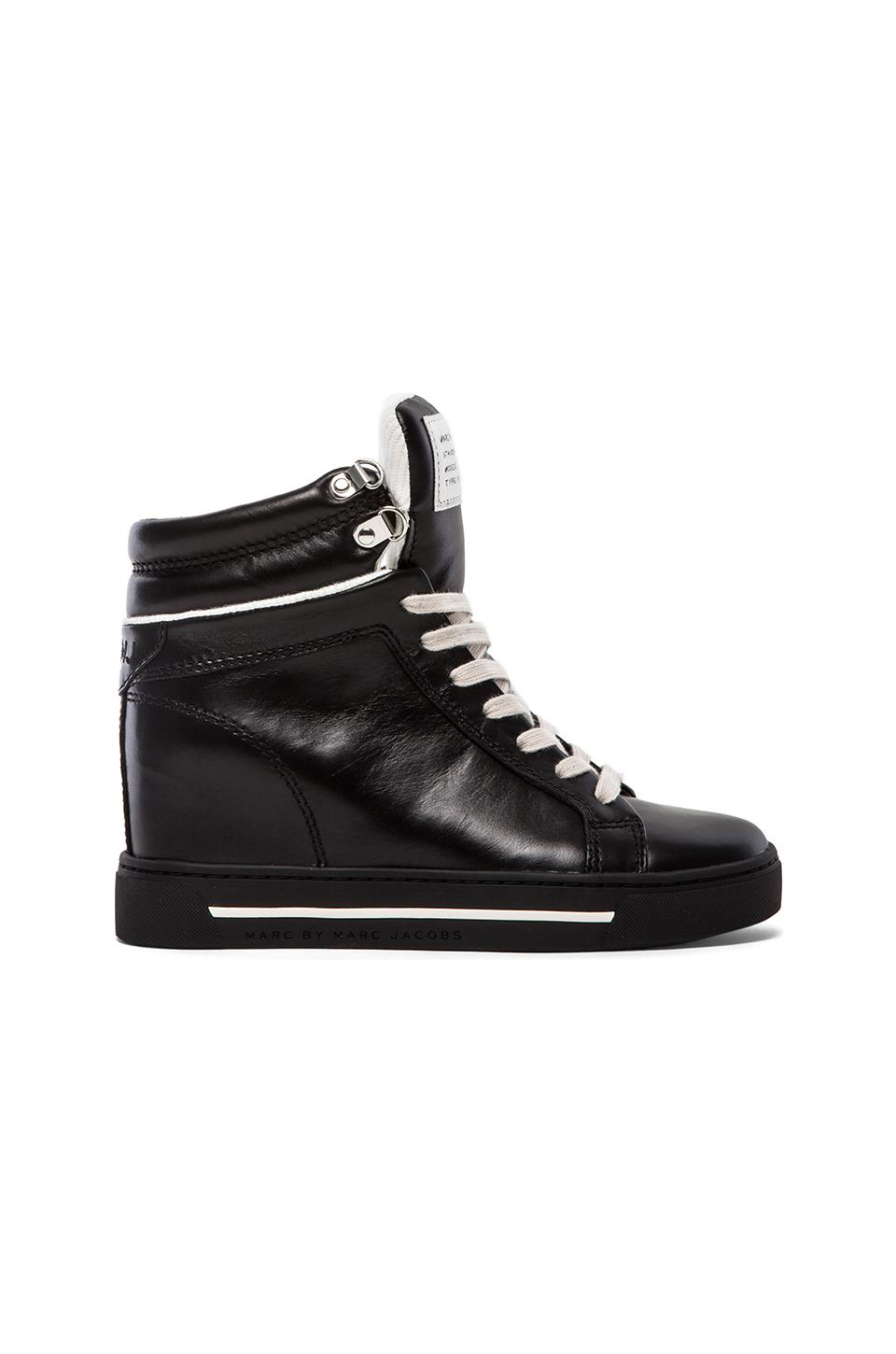 Marc by Marc Jacobs Cute Kicks Sneaker Wedge in Black
