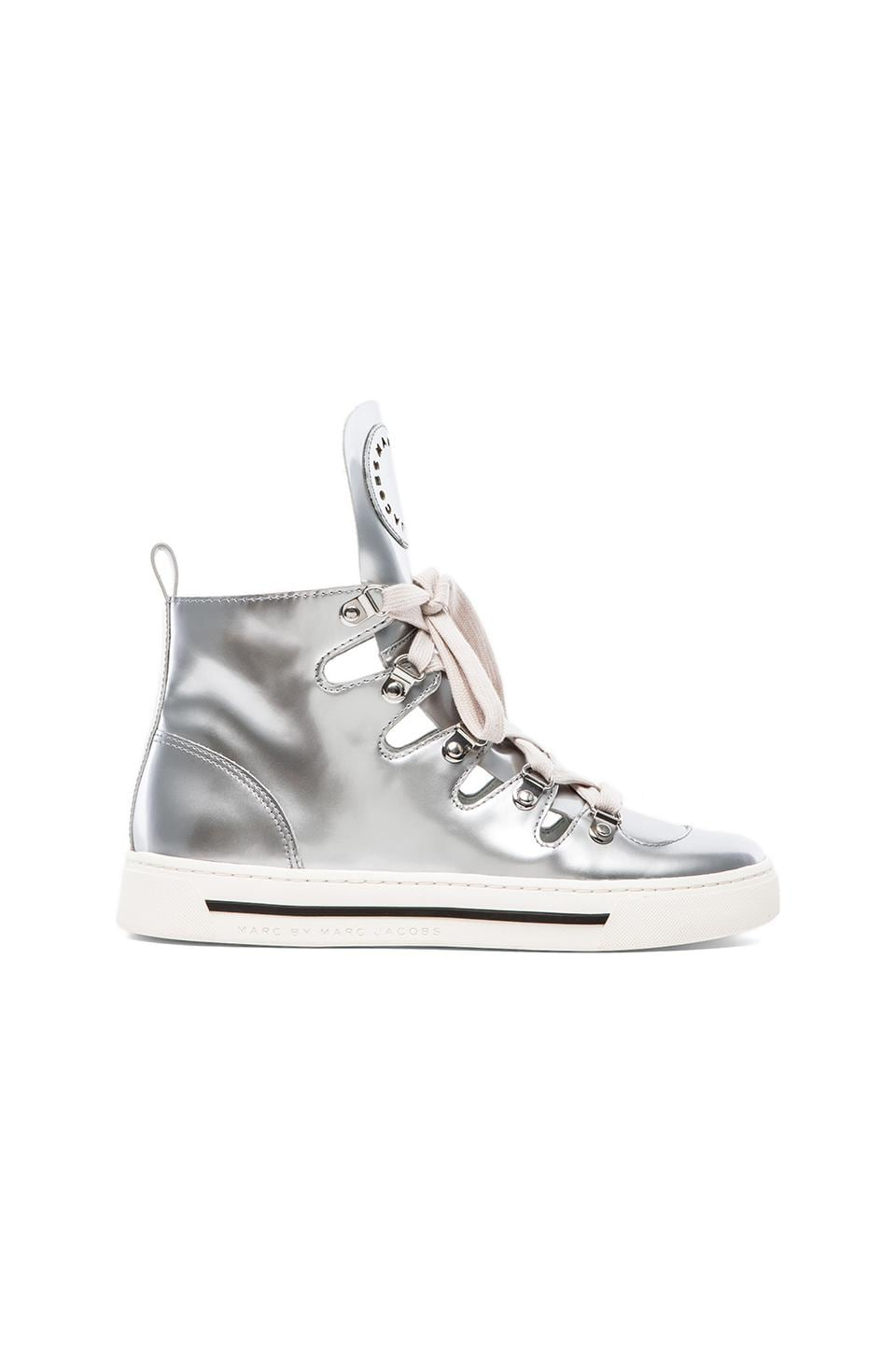 Marc by Marc Jacobs Cute Kicks Reflective Sneaker in Silver