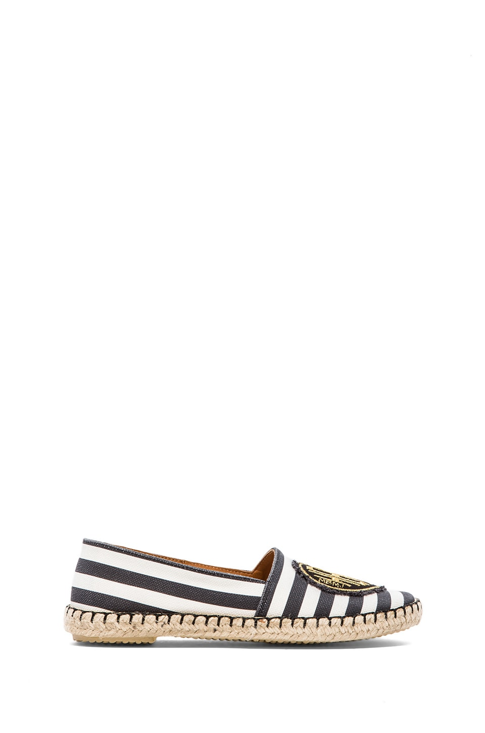 Marc by Marc Jacobs House of Cards Espadrille in Black & White