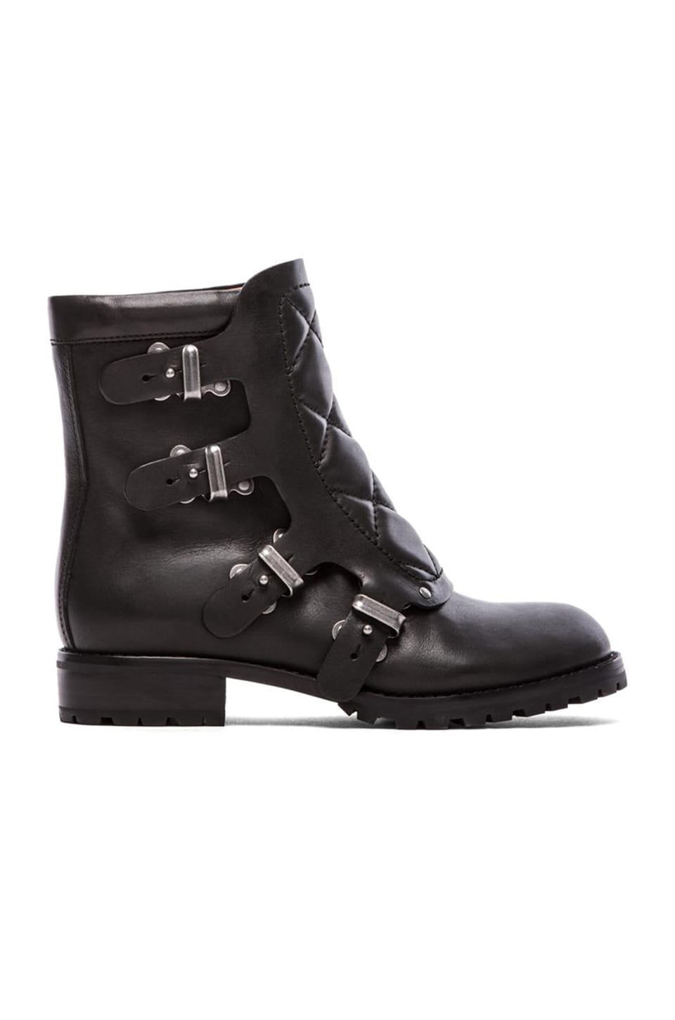 Marc by Marc Jacobs Easy Rider 20mm Flat Ankle Boot in Black