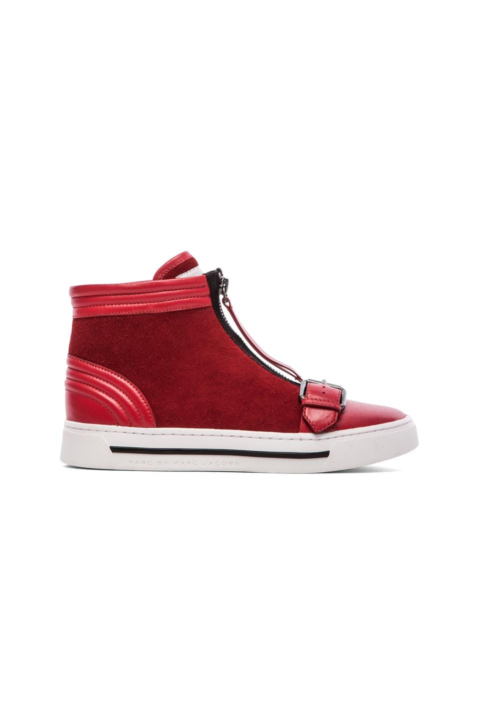 Marc by Marc Jacobs BMX Hi Top Sneakers in Red