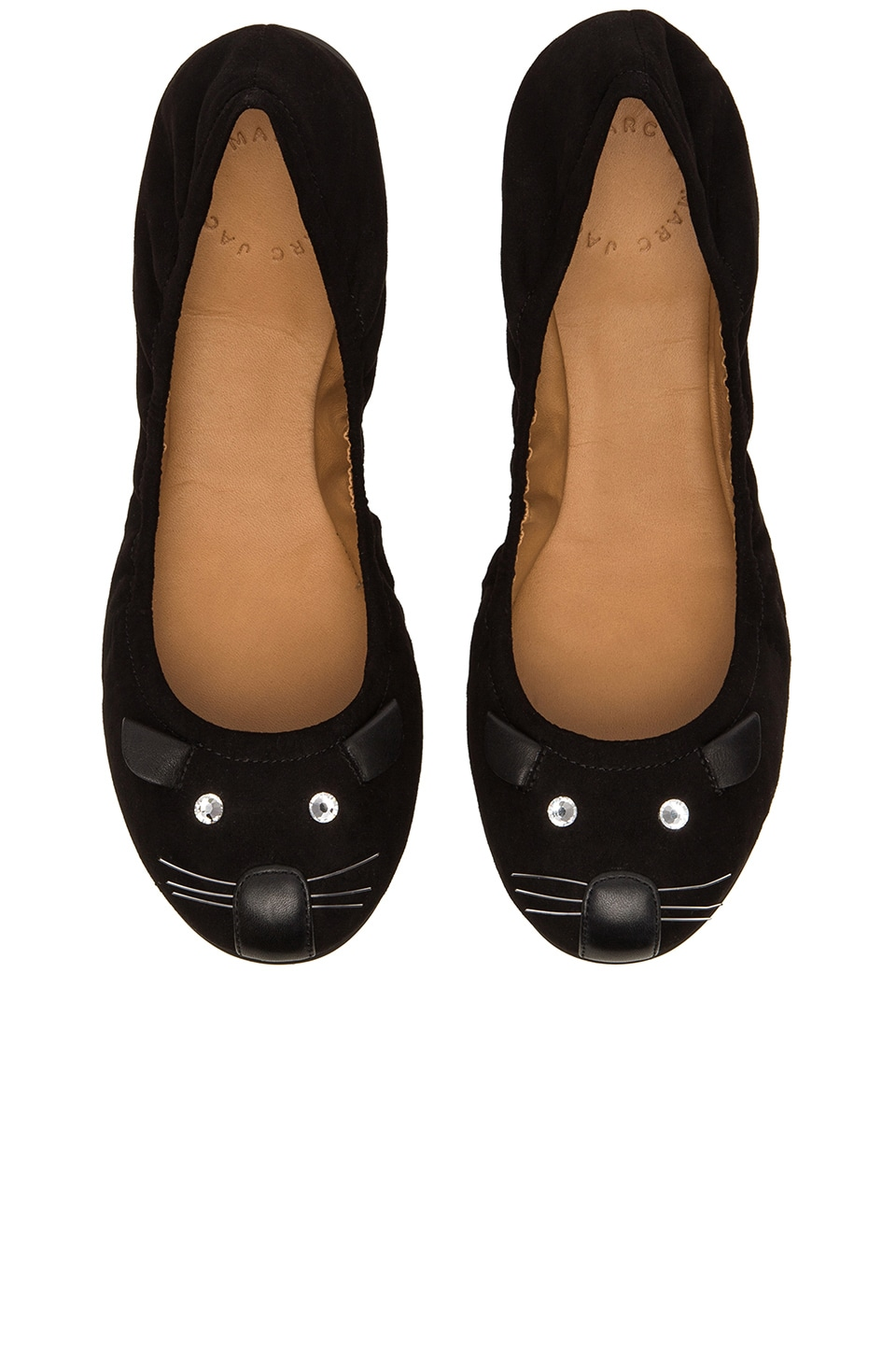 Marc by Marc Jacobs Ballerina in Black