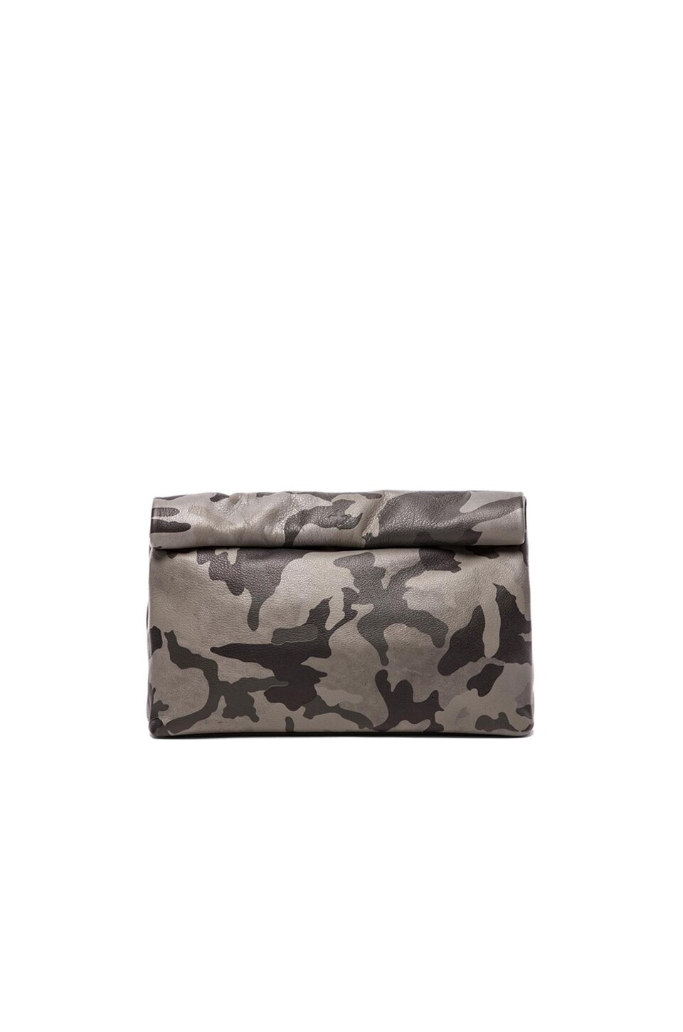 Marie Turnor Lunch Clutch in Camouflage