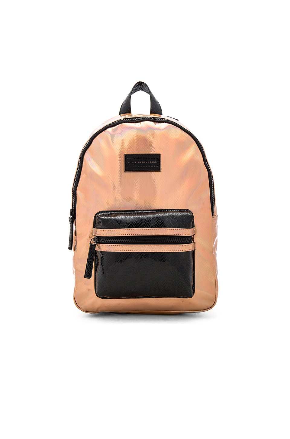 Marc Jacobs Leather Effect Backpack in Cuivre Rose