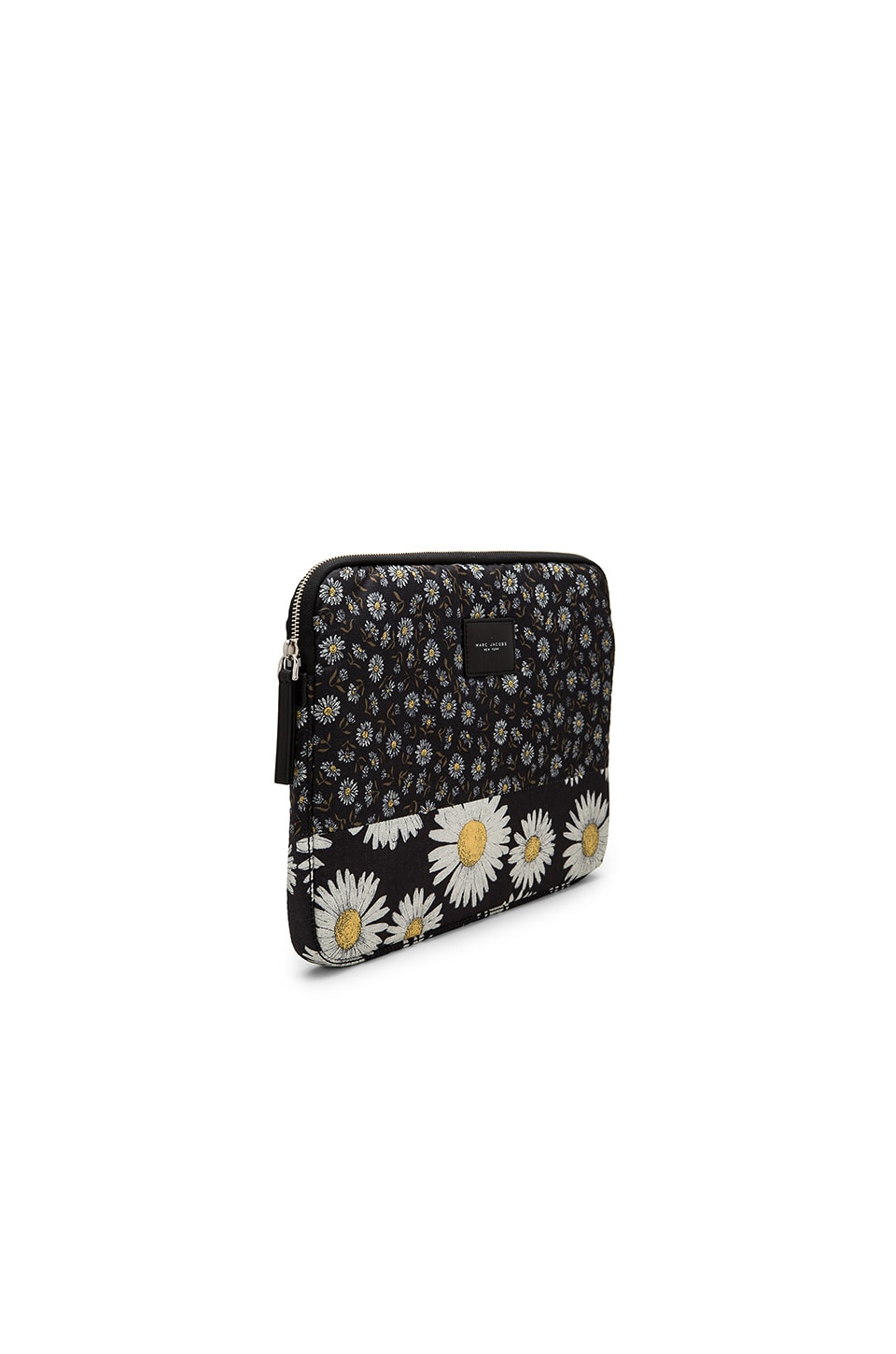"Marc Jacobs Mixed Daisy 13"" Computer Case in Black Multi"
