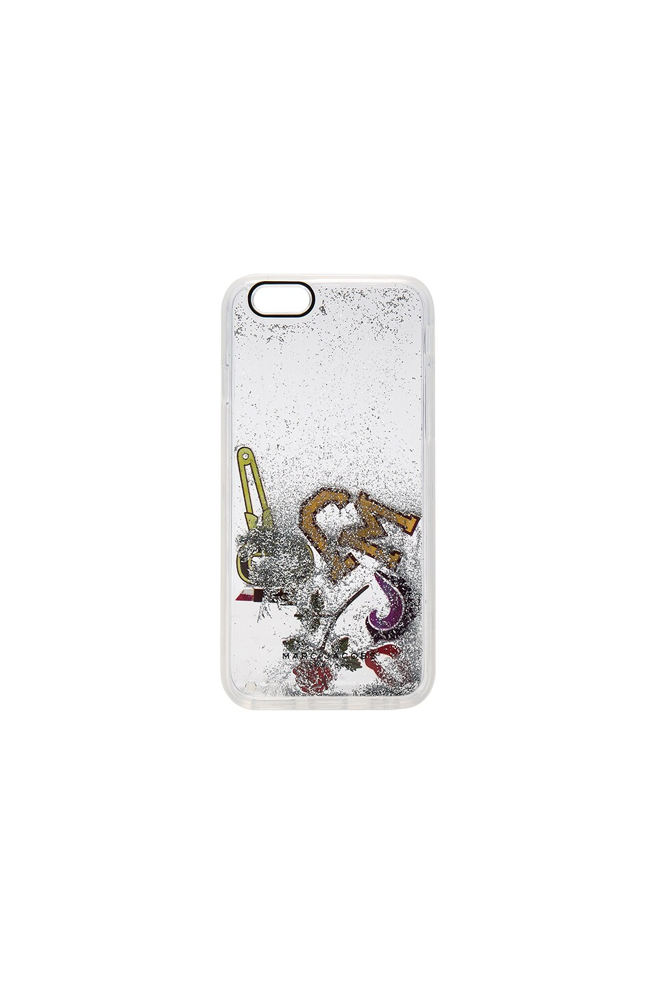 Marc Jacobs Moving MJ Collage iPhone 6s Case in Clear Multi