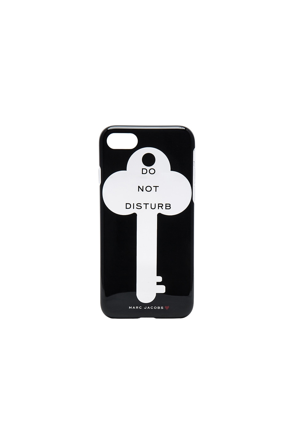 Marc Jacobs Do Not Disturb iPhone 7 Case in Black