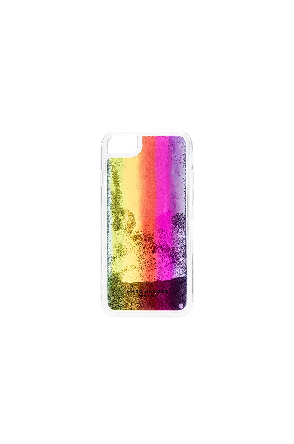 Marc Jacobs Glitter Rainbow iPhone 7 Case in Purple Multi