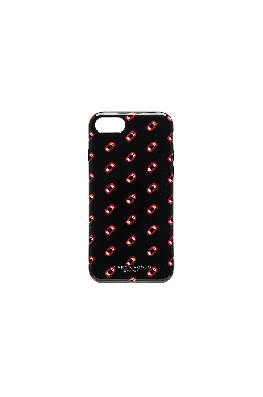 Marc Jacobs Monogram Scream iPhone 7 Case in Black Multi | REVOLVE