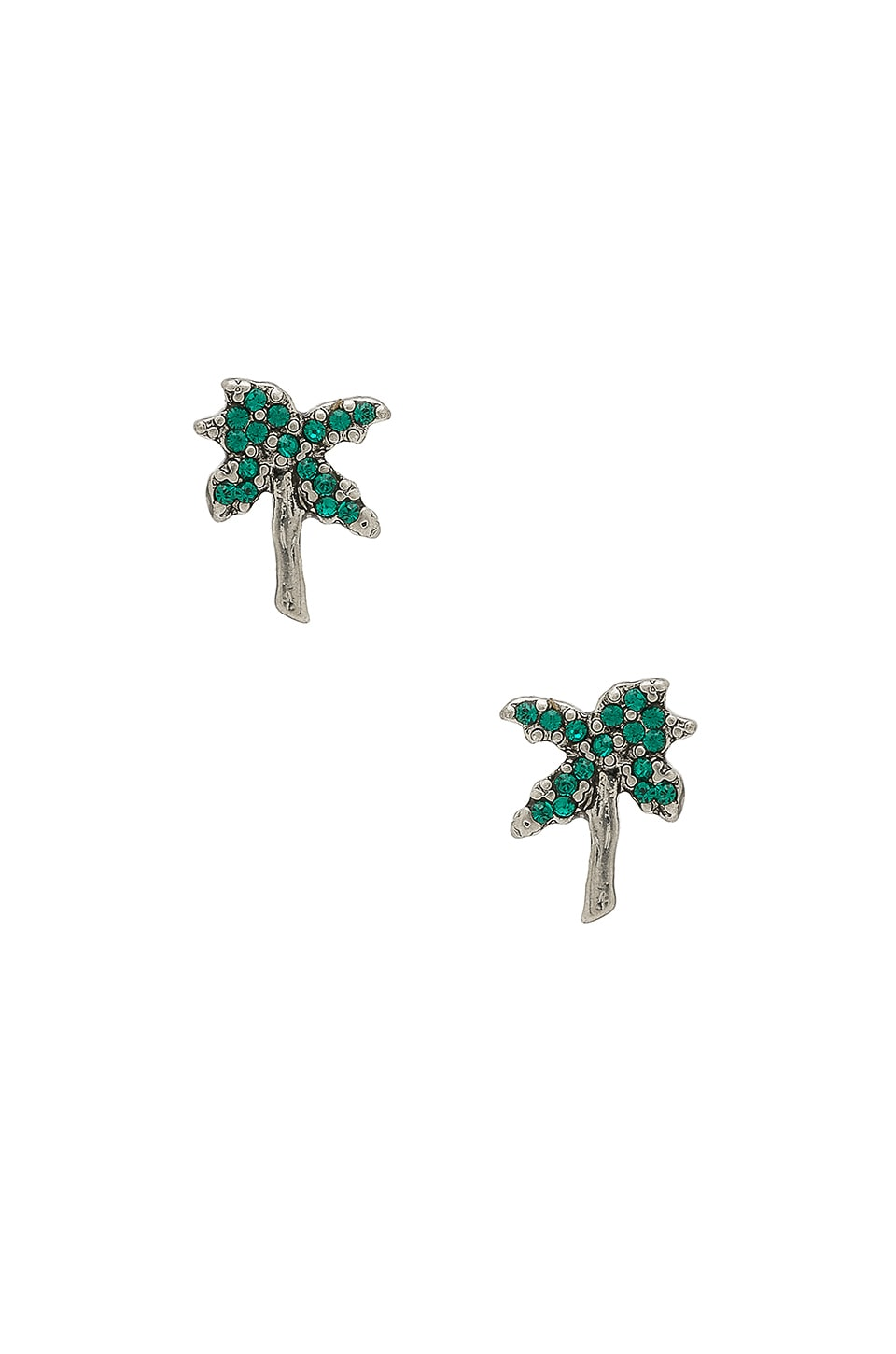 Strass Palm Tree Studs by Marc Jacobs