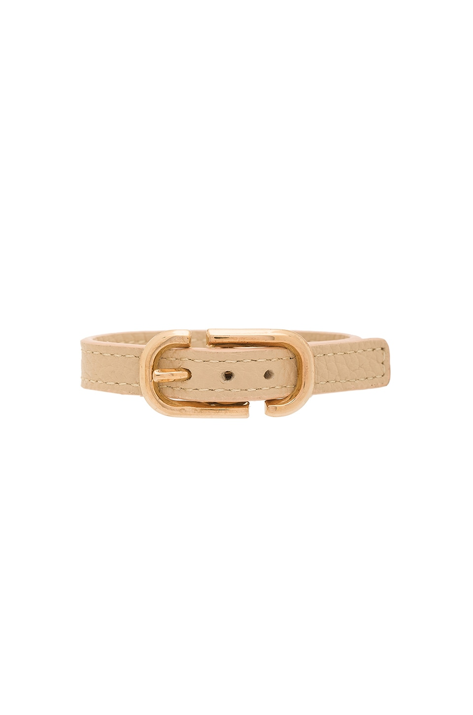 Icon Buckle Leather Bracelet by Marc Jacobs