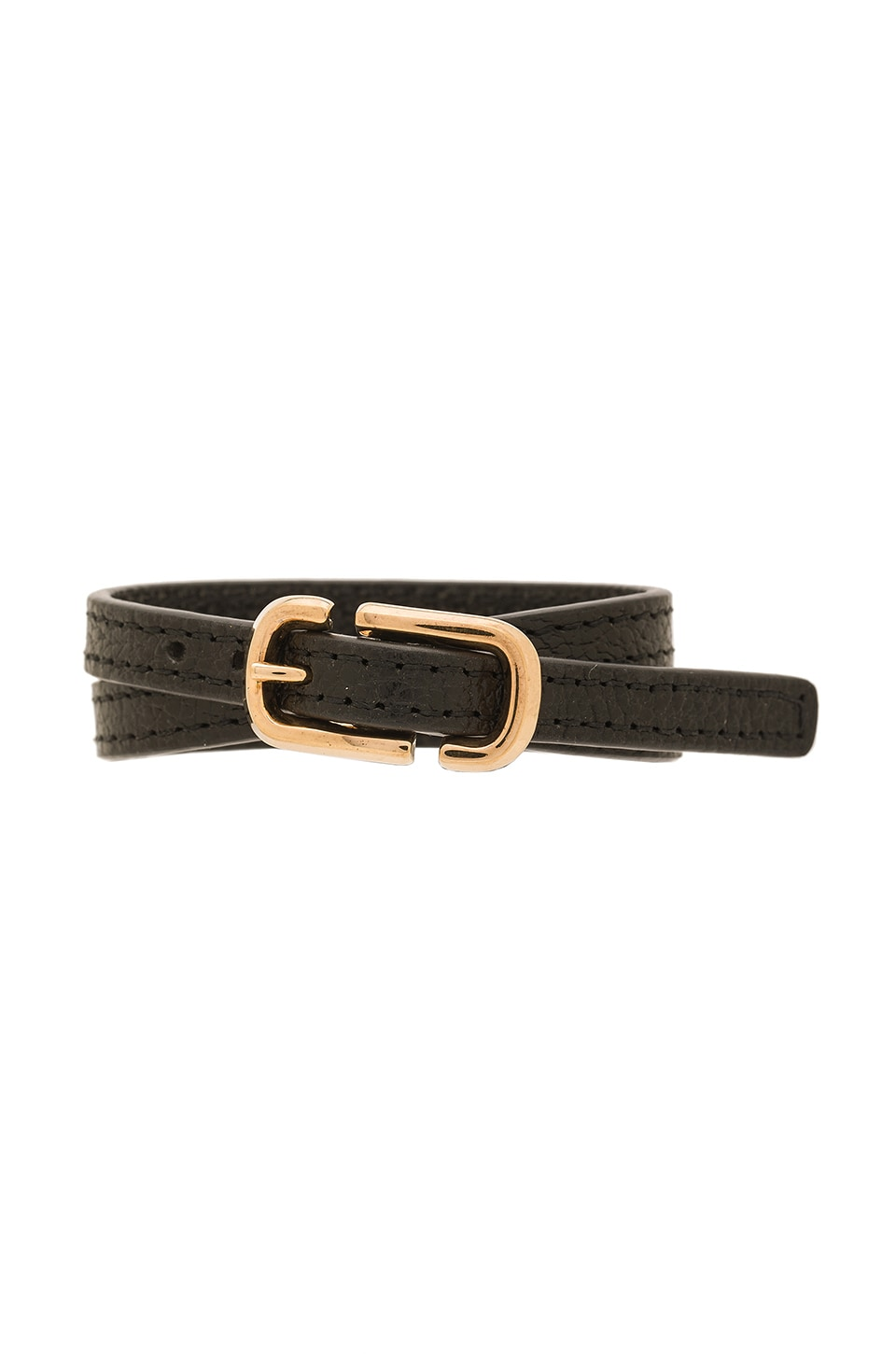 Icon Buckle Double Wrap Bracelet by Marc Jacobs