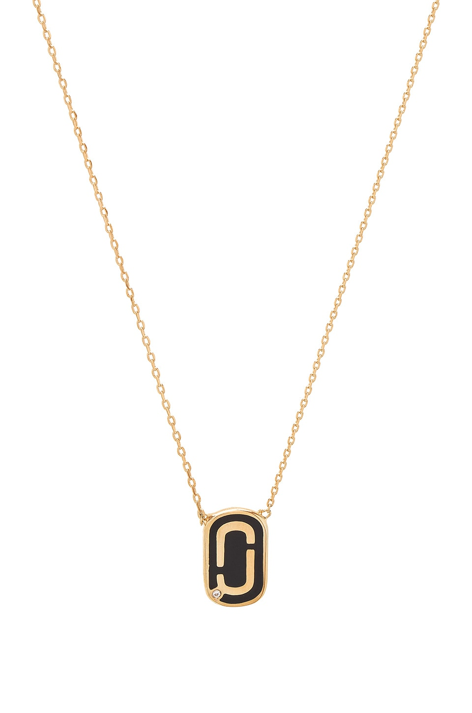 Icon Enamel Pendant Necklace by Marc Jacobs