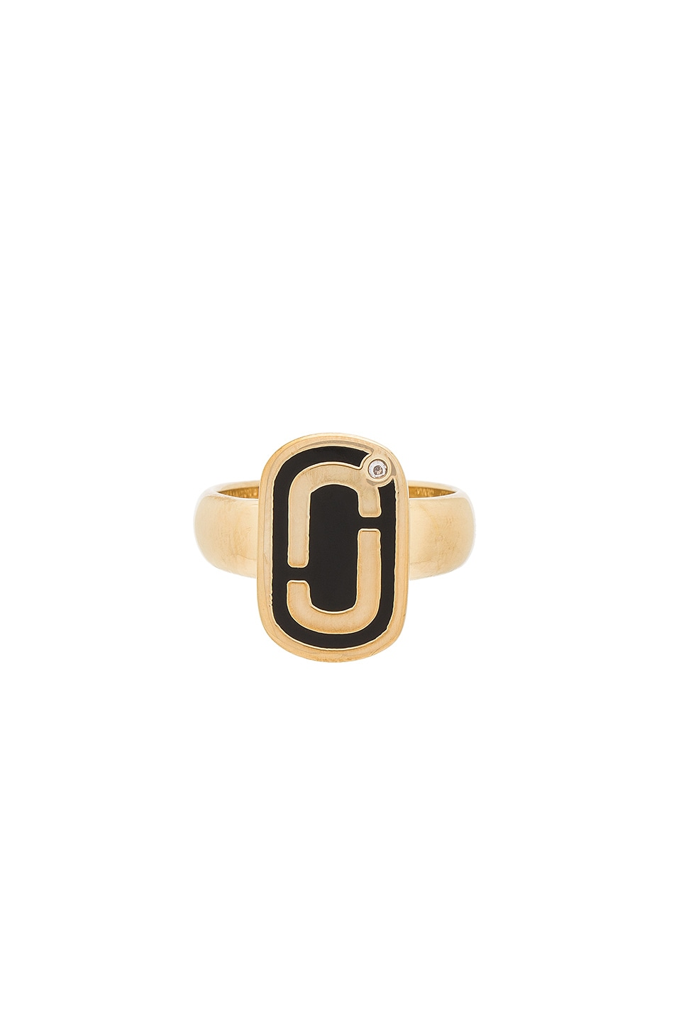 Icon Enamel Ring by Marc Jacobs