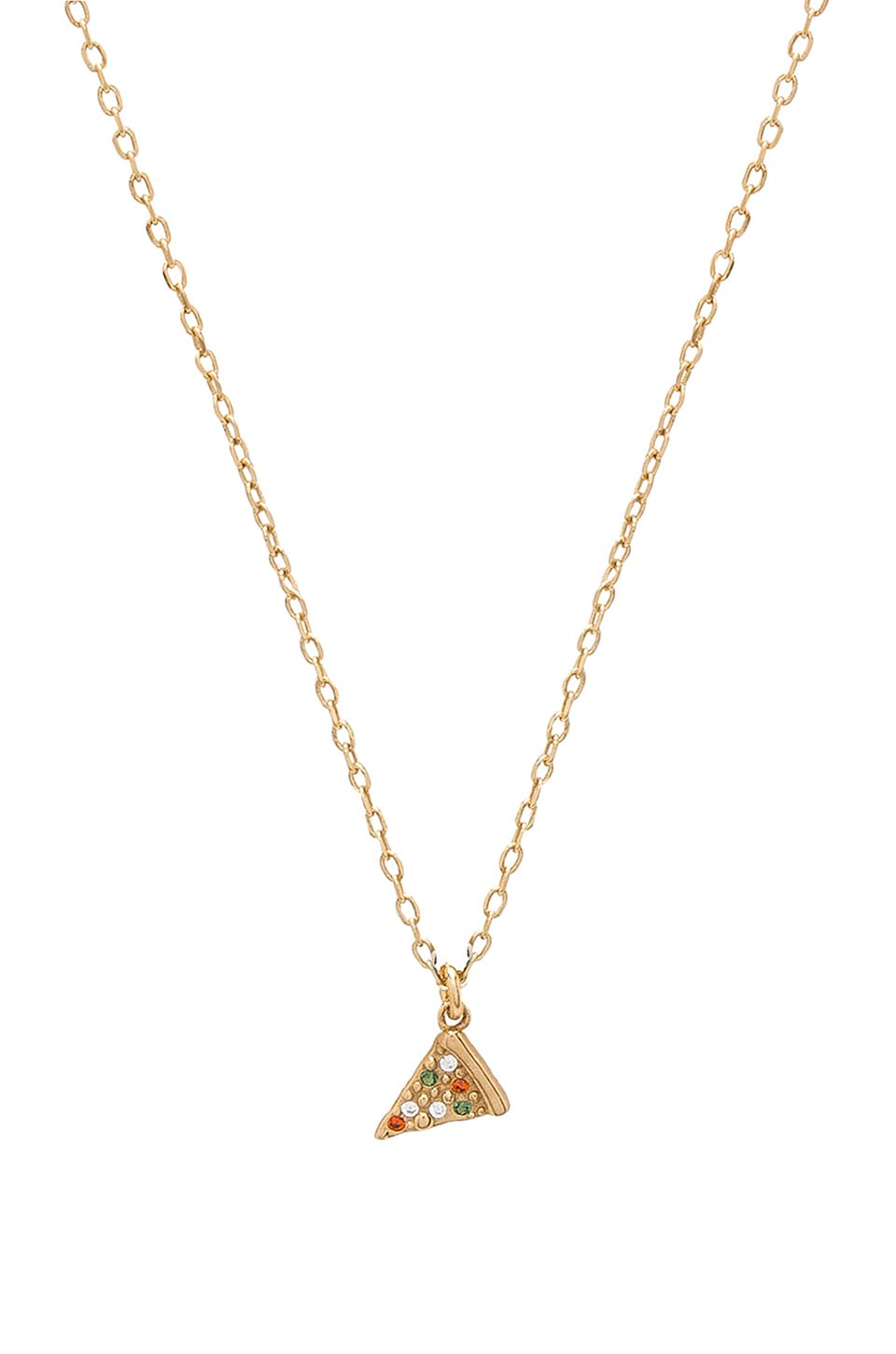 Marc Jacobs Pizza Pendant in Gold