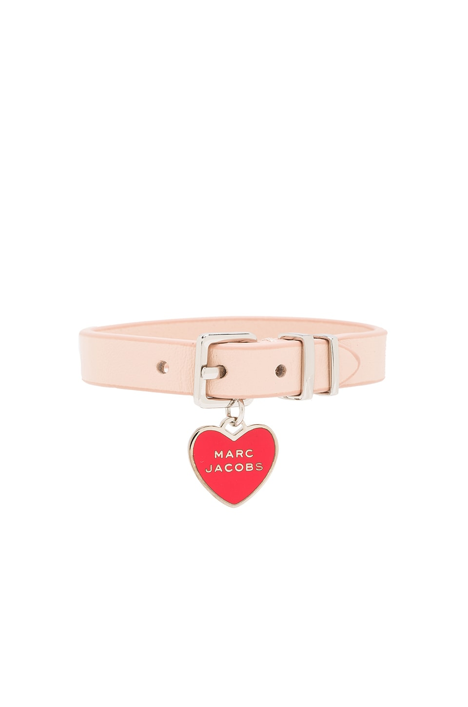 Marc Jacobs Heart Bracelet in Seashell Peach
