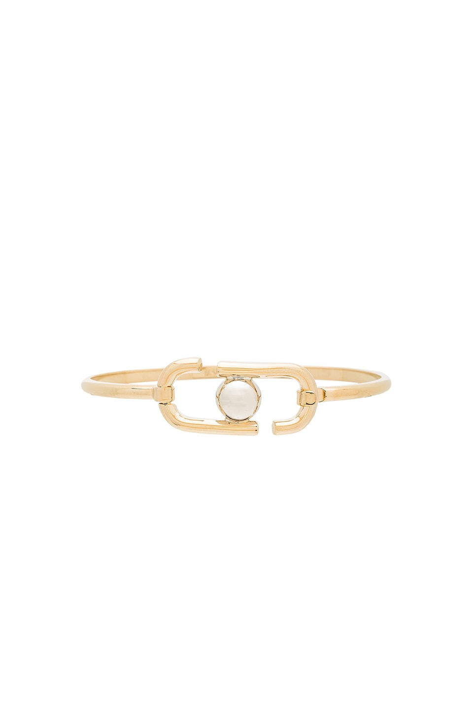 Marc Jacobs Icon Hinge Bracelet in Gold Multi
