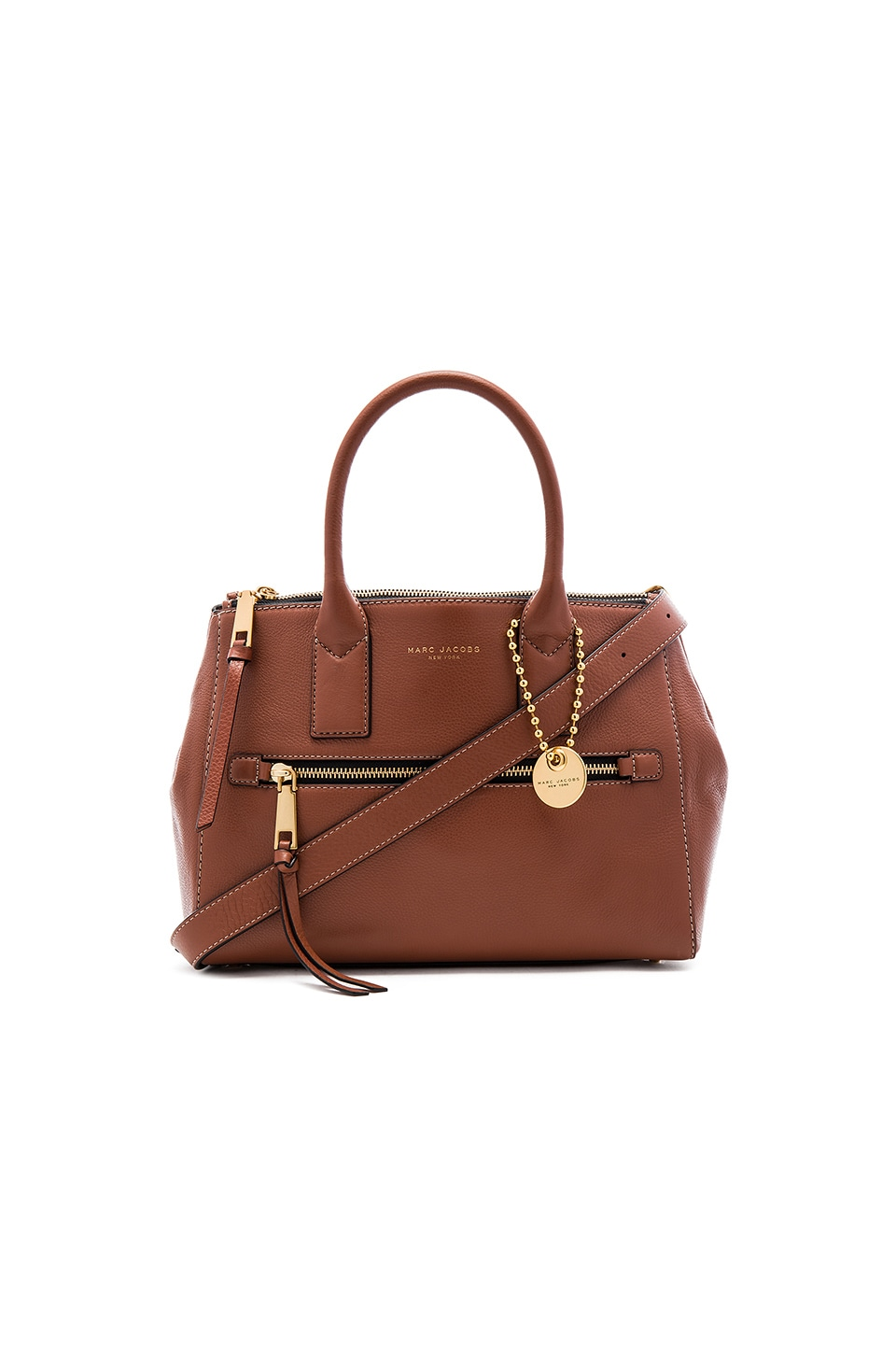 Marc Jacobs Recruit E/W Tote in Cognac