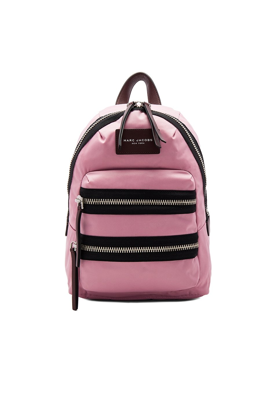 Marc Jacobs Nylon Biker Mini Backpack in Pink Fleur