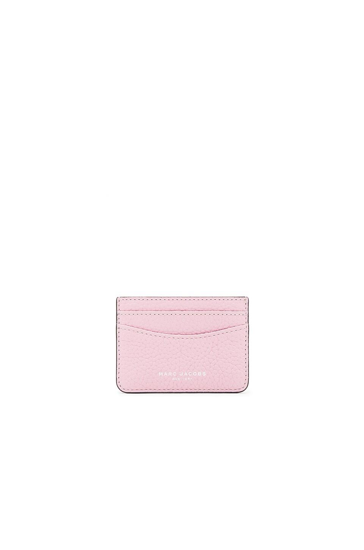 Marc Jacobs Gotham Card Case in Pink Fleur