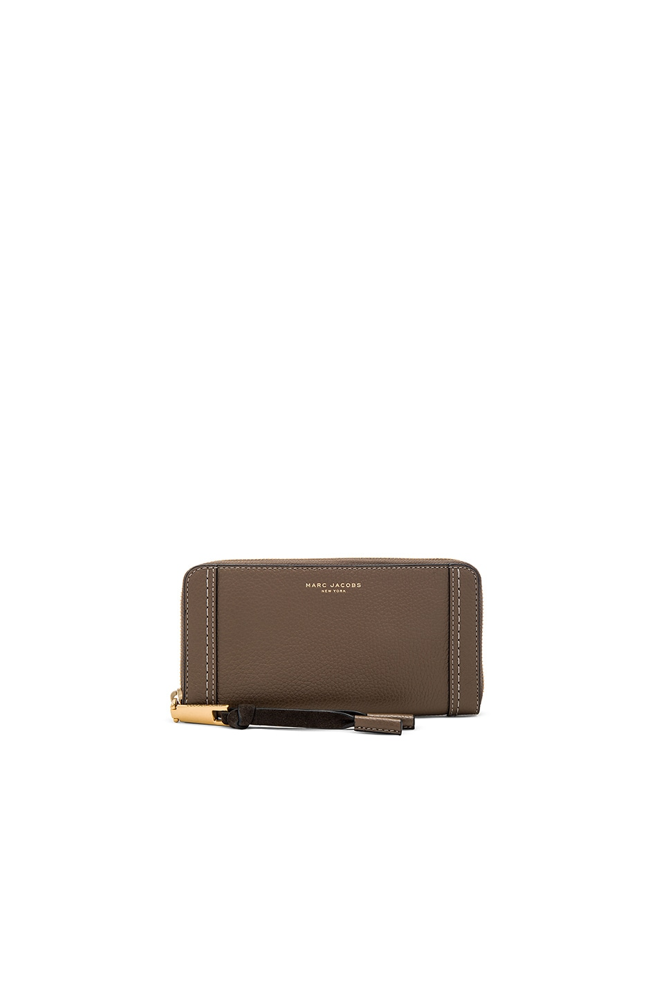 Marc Jacobs Maverick Standard Continental Wallet in Teak