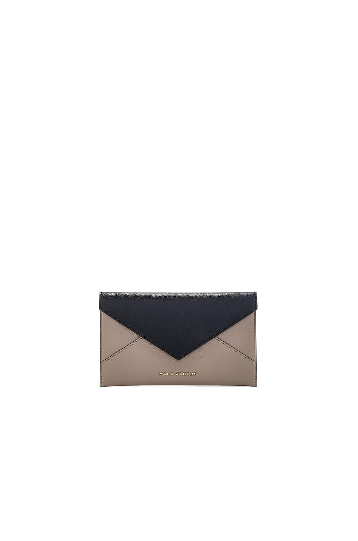 Saffiano Bicolor Envelope Wallet at REVOLVE