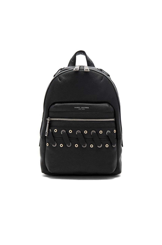 Marc Jacobs Biker Grommet Backpack in Black