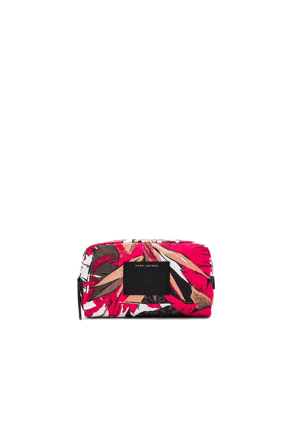 Marc Jacobs B.Y.O.T Palm Large Cosmetic Bag in Pink Multi