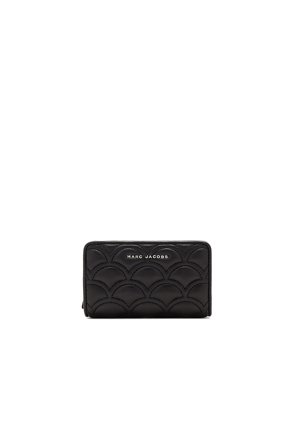 Marc Jacobs Matelasse Compact Wallet in Black