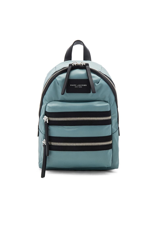 Marc Jacobs Nylon Biker Mini Backpack in Dolphin Blue