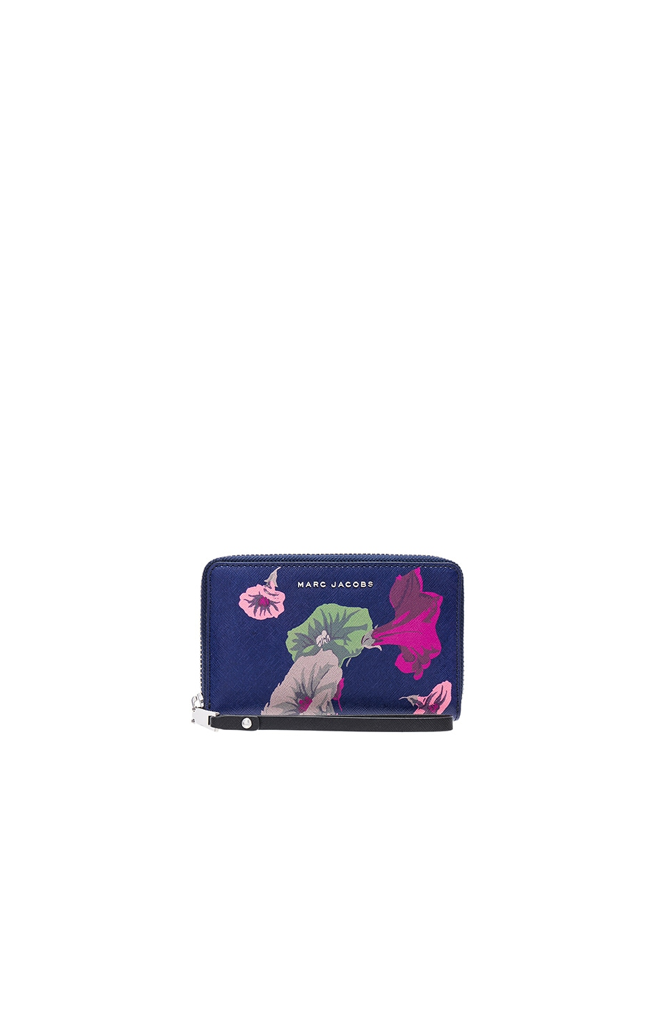 Saffiano Morning Glories Zip Phone Wristlet by Marc Jacobs
