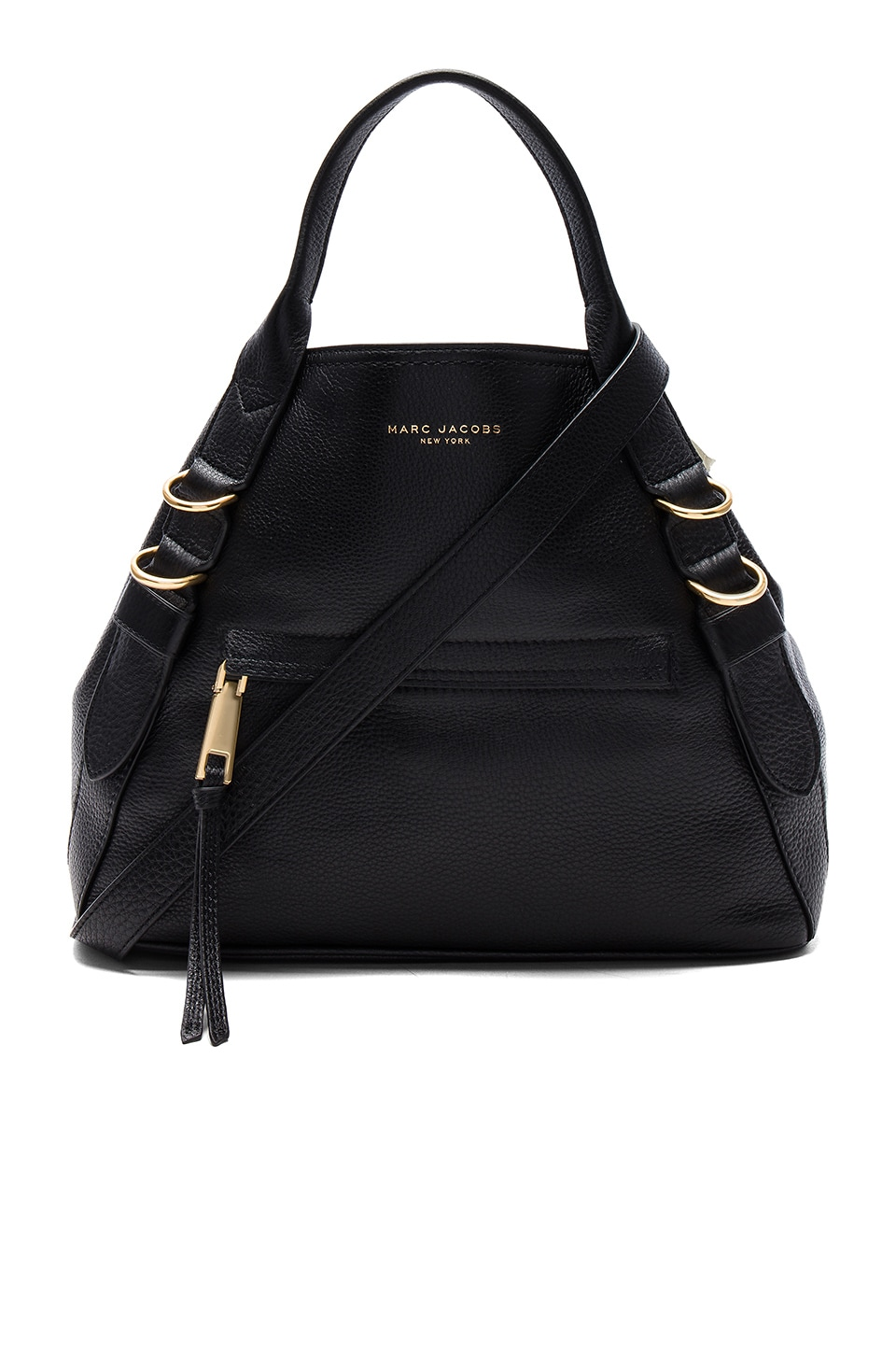 Marc Jacobs The Anchor Bag in Black | REVOLVE