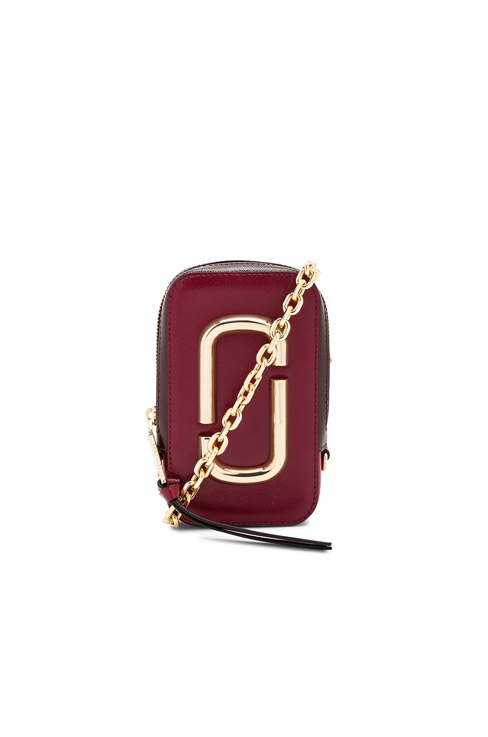 Marc Jacobs Hot Shot Camera Bag in Deep Maroon