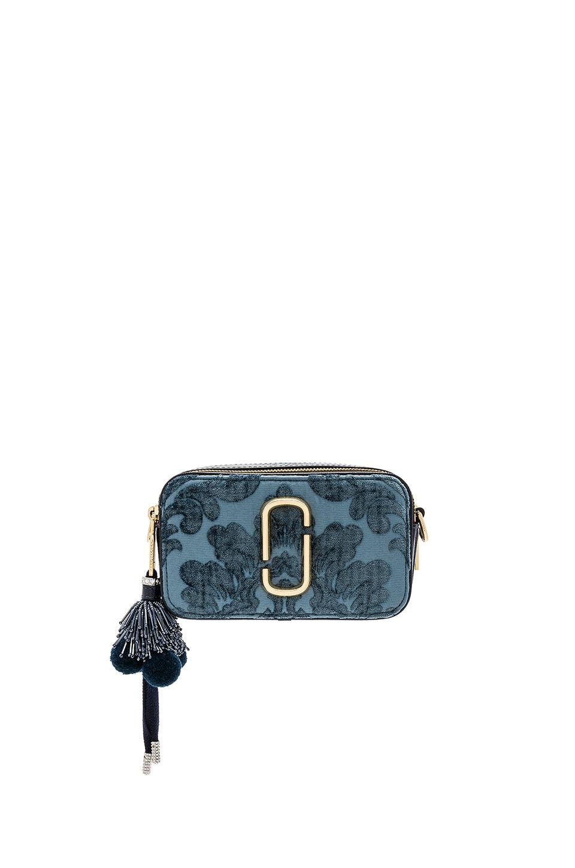 aae946fc548 Marc Jacobs Snapshot Damask Camera Bag in Blue   REVOLVE