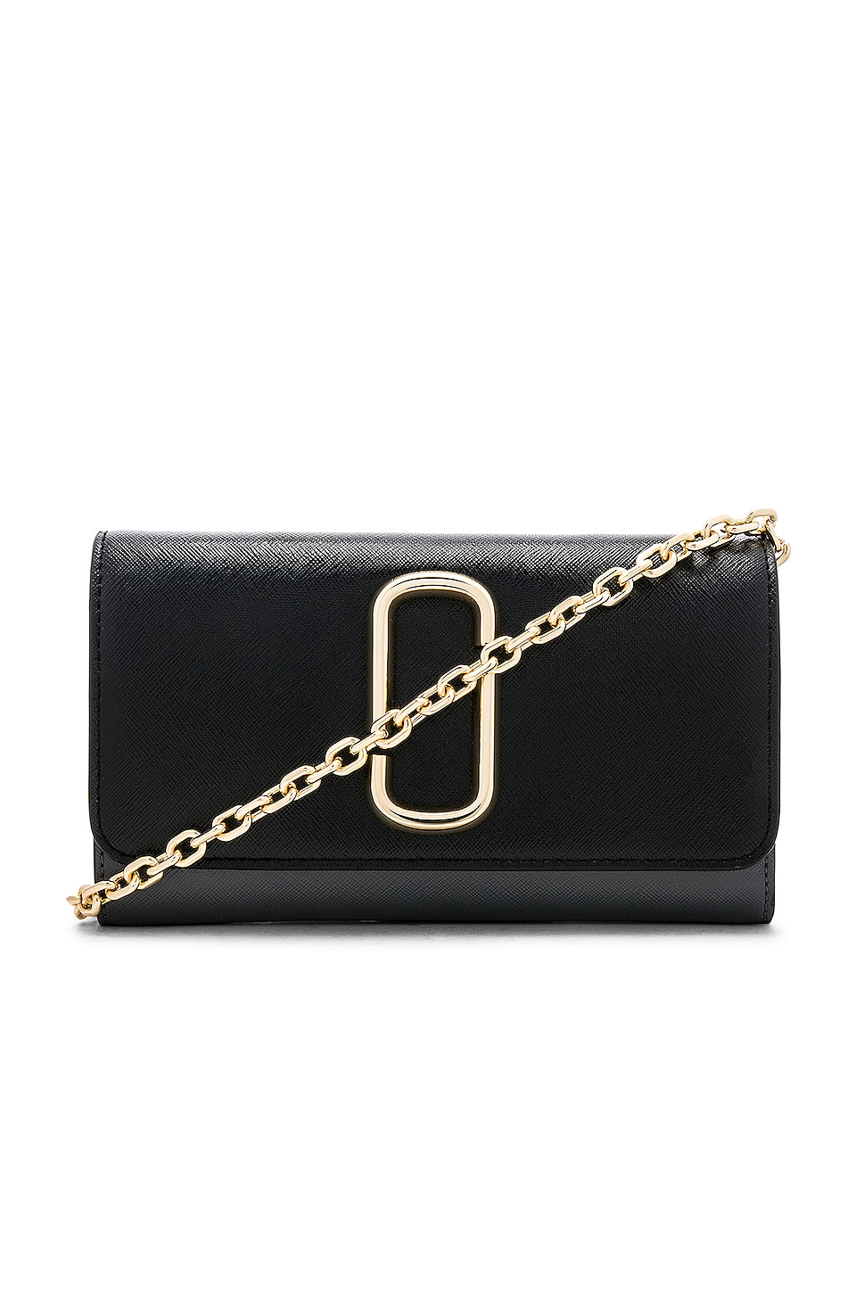 Marc Jacobs Wallet On Chain Bag in Black Multi