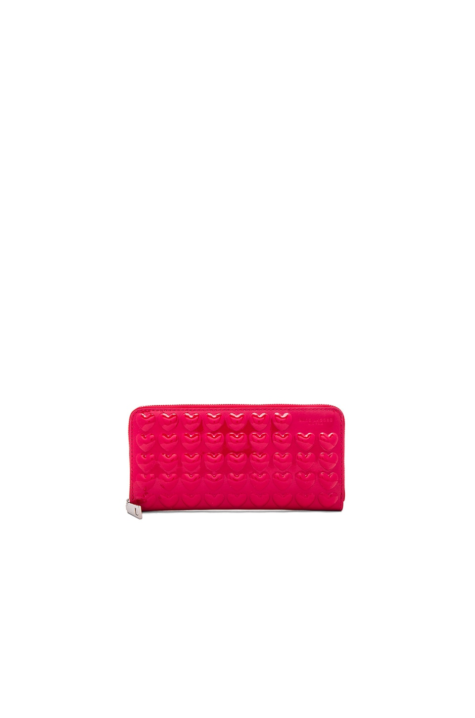 Marc Jacobs Embossed Solid Heart Continental Wallet