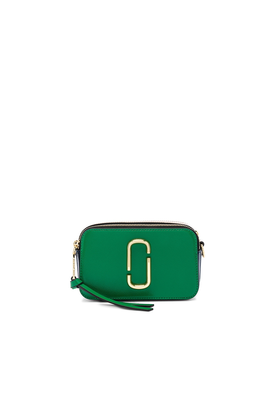 Marc Jacobs Snapshot Crossbody in Green Multi