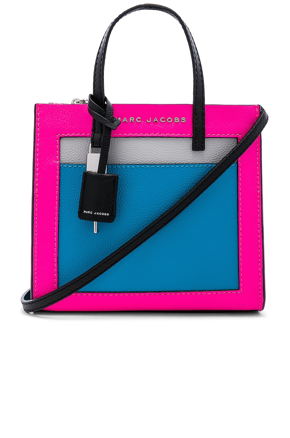 Marc Jacobs Mini Grind in Bright Pink Multi