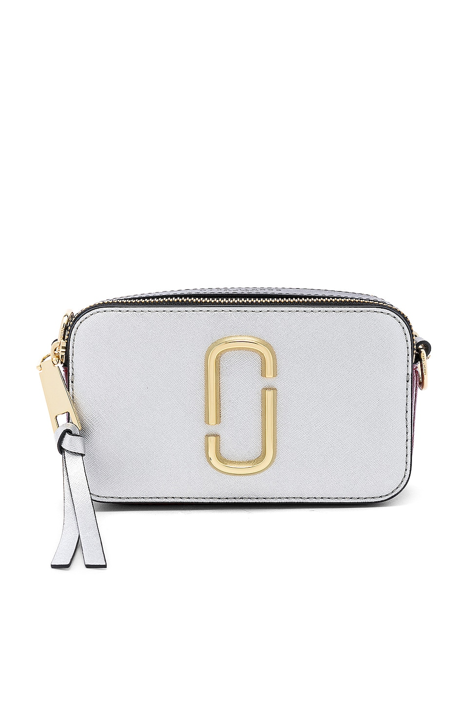 Marc Jacobs Snapshot Crossbody in Silver Multi