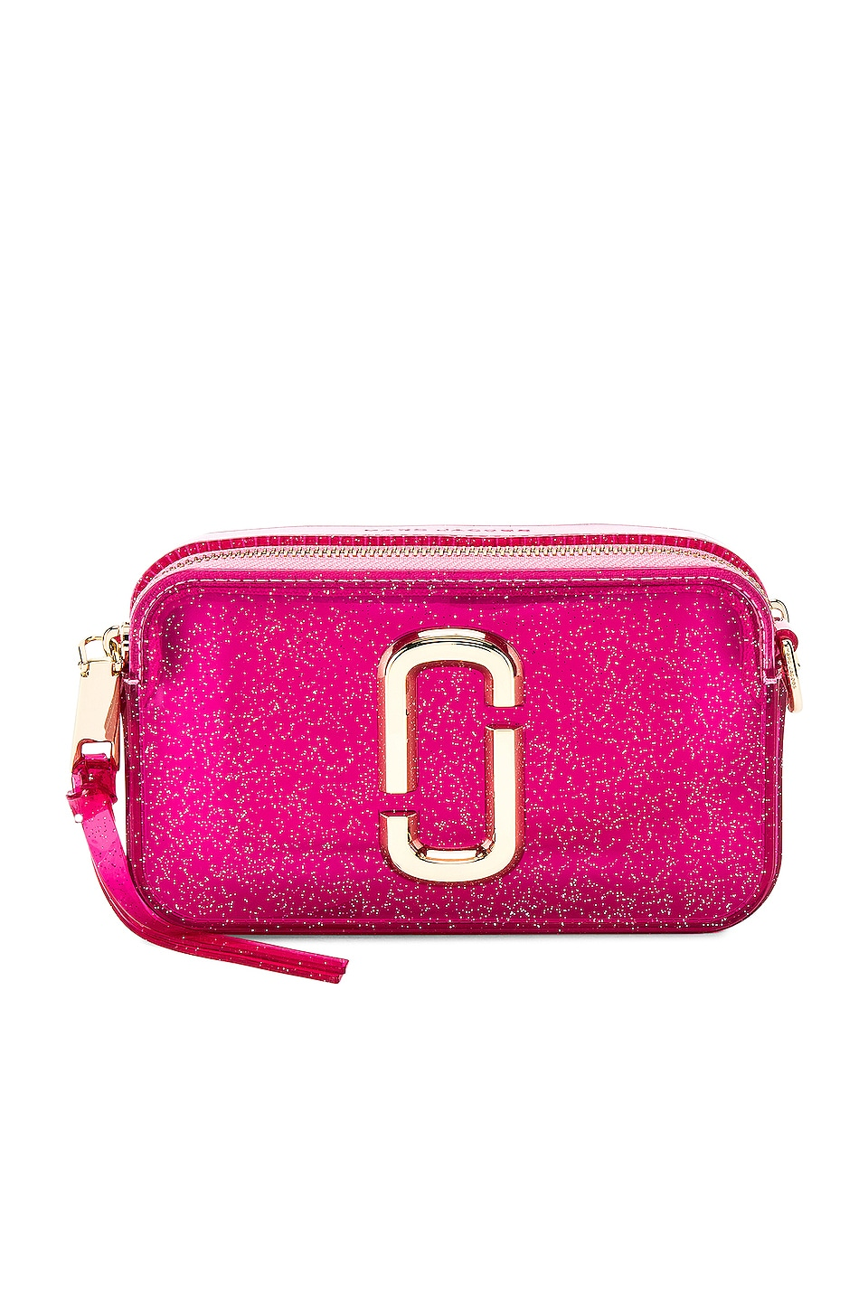 Marc Jacobs The Jelly Glitter Snapshot in Pink Multi