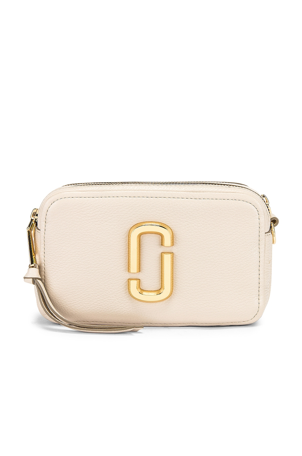 Marc Jacobs The Softshot 21 in Cream