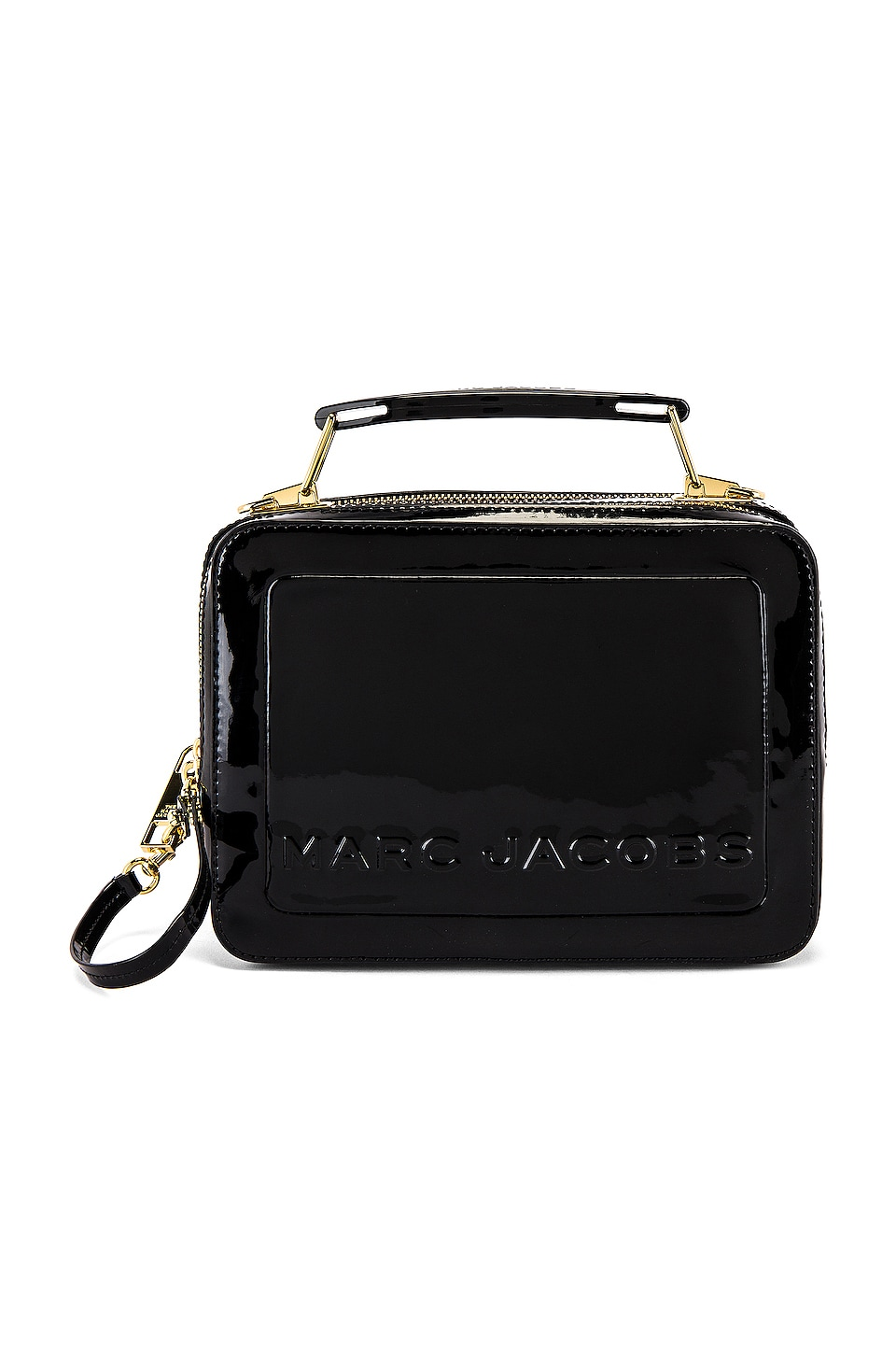 Marc Jacobs The Box 23 Patent Bag in Black