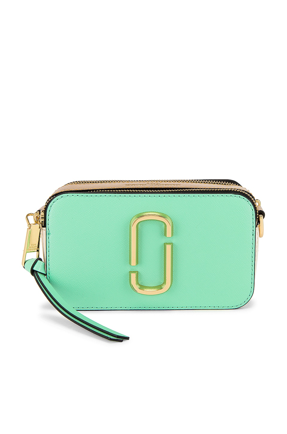 Marc Jacobs Snapshot Bag in Mint Multi