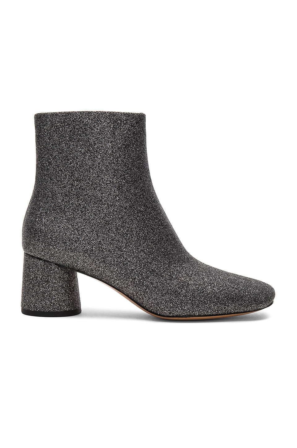 Marc Jacobs Valentine Ankle Boot in Dark Silver